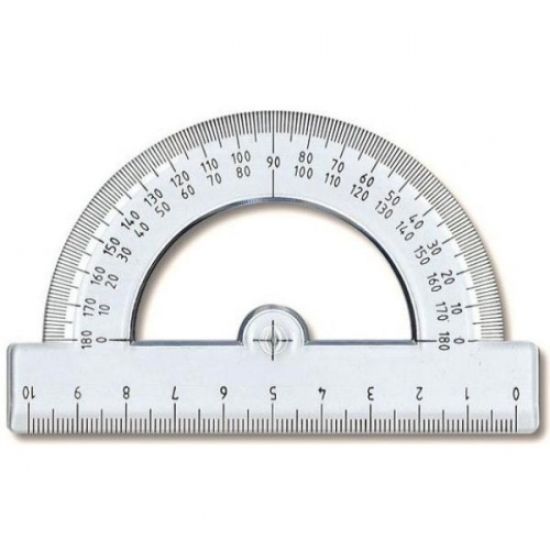 Μοιρογνωμόνιο Ilca 180ο 10 cm