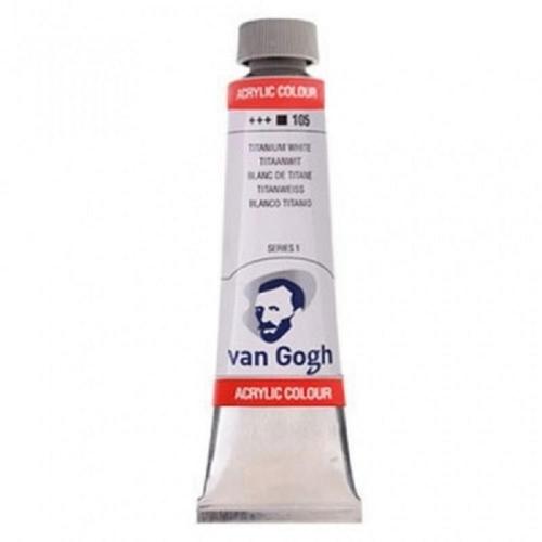 Ακρυλικό Talens Van Gogh 40 ml 105 titanium white