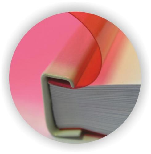 Βιβλιοδεσία μεταλλική ράχη με ζελατίνες