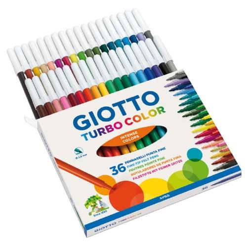 Μαρκαδόροι Giotto Tourbo color λεπτοί 36 τεμ.