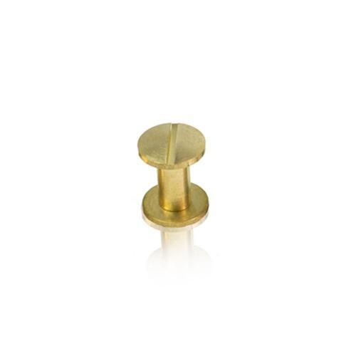Βίδες χρυσές ζεύγος για μενού εστιατορίου 10 mm
