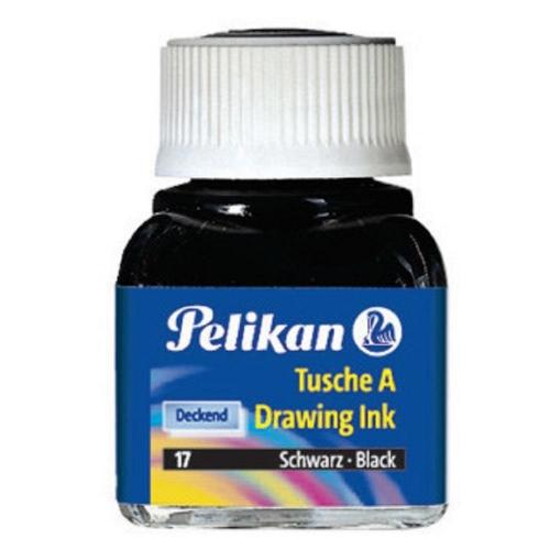 Σινική μελάνη Pelikan 10 ml μαύρη 17