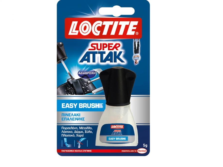 Κόλλα στιγμής Loctite Attak πινέλο 5 gr
