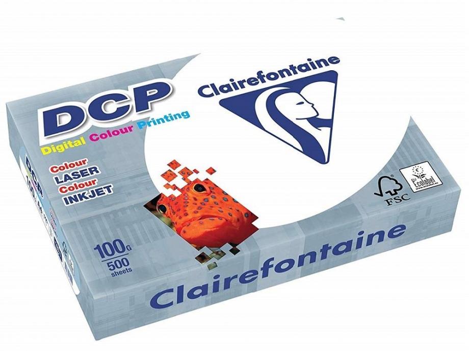 Χαρτί Α4 Clairefontaine DCP 1821C 100gr 500φ λευκό