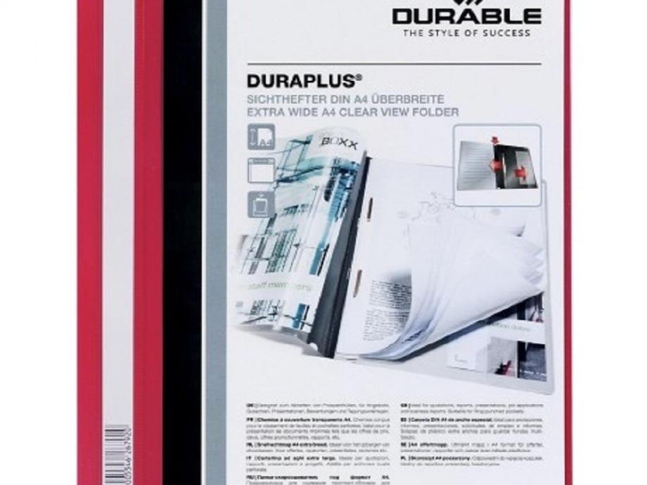 Ντοσιέ με έλασμα Duraplus 2579 κόκκινο
