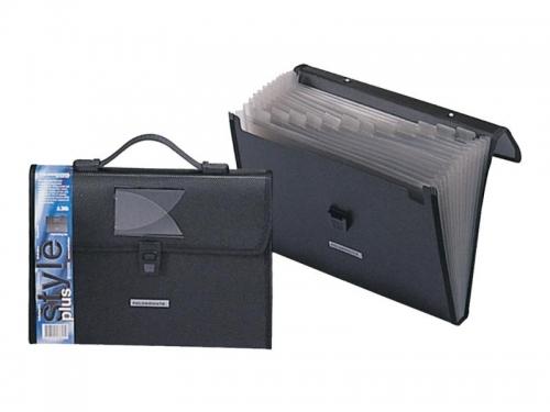 Γραμματιοθήκη Α4 τσάντα Foldermate 136 13θ μαύρη