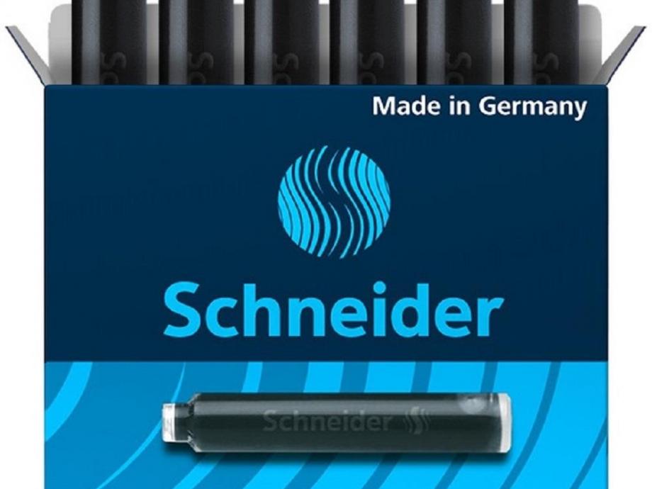 Αμπούλες κοντές Schneider μαύρες 6 τεμ