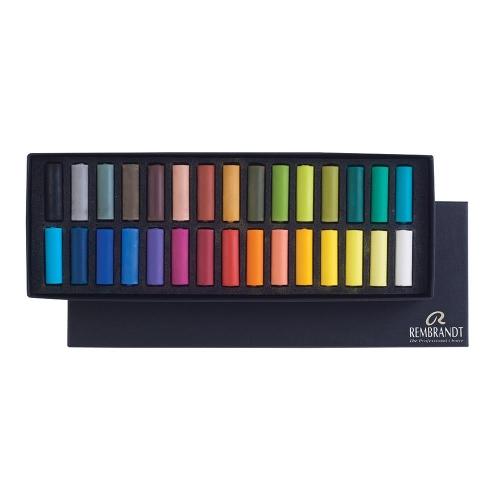 Soft pastels Rembrandt 30 half Talens 300C30.5
