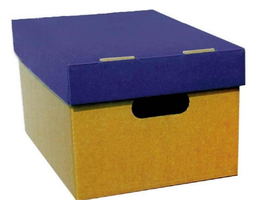 Κουτί αποθήκευσης Α3 4070 μπλε
