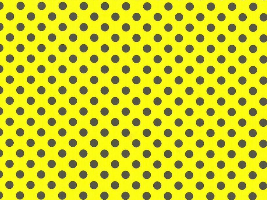 Χαρτόνι πουά 50x70 cm κίτρινο με μαύρες βούλες