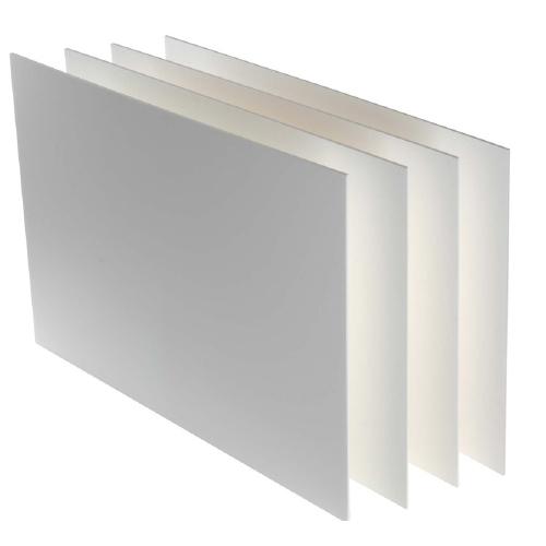 Μακετόχαρτο 50x70 cm 3 mm λευκό