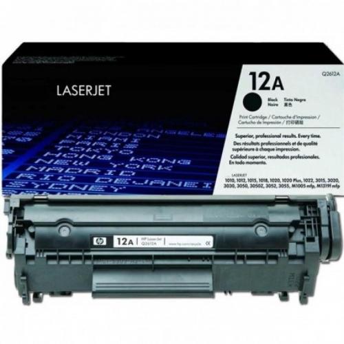 Toner Hp laserjet Q2612A black