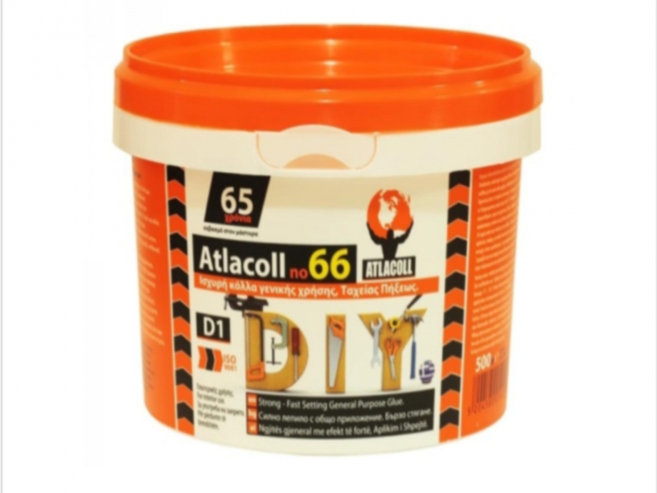 Κόλλα Ατλακόλ λευκή Νο66 500 gr γενικής χρήσεως