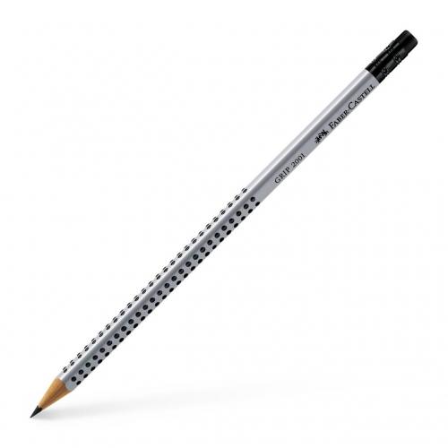 Μολύβι Faber grip 2001 HB με γόμα