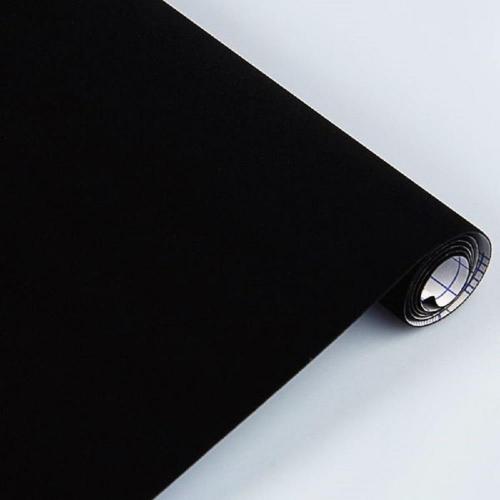 Βελουτέ αυτοκόλλητο ρολό 0,45 /1m Sadipal μαύρο
