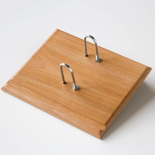 Βάση ημερολογίου ξύλινη απλή