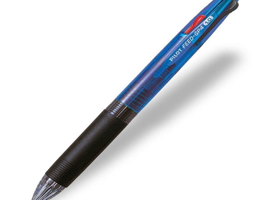 Στυλό Pilot 4 χρώματα feed GP4 μπλε