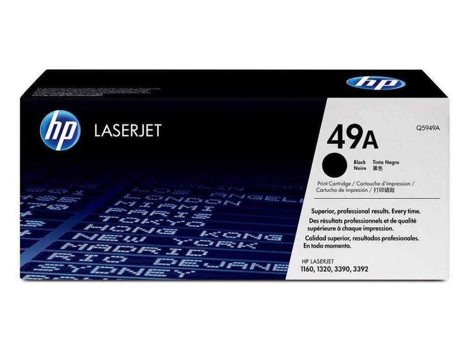 Toner Laser Hp 5949A black
