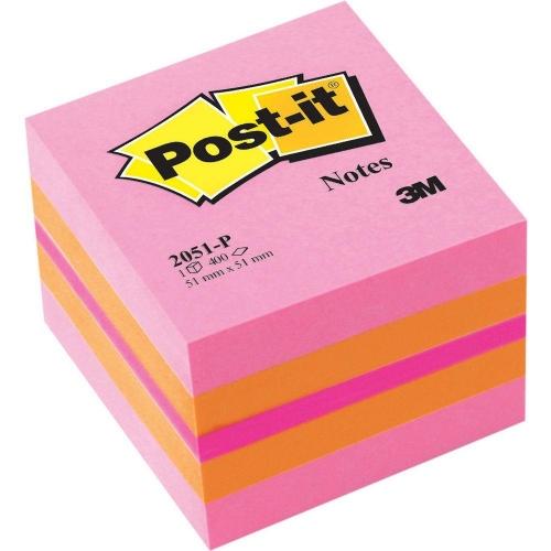 Χαρτάκια Post-it 3M 51x51 400Φ 2051Ρ