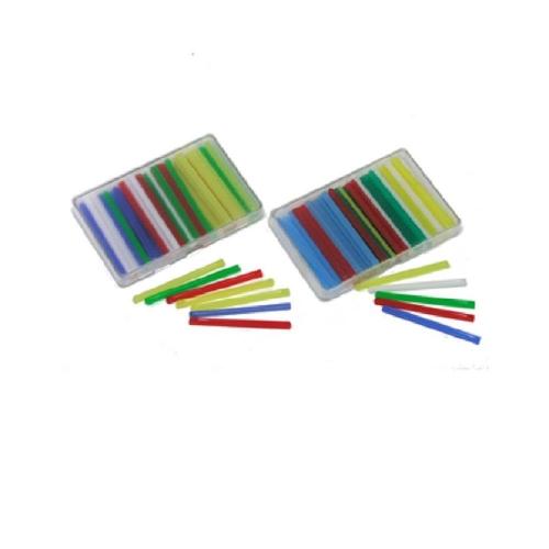 Ξυλάκια αριθμητικής χρωματιστά σετ 50 τεμ