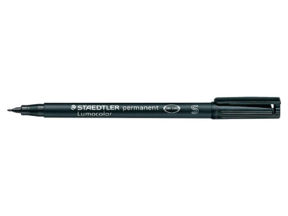 Μαρκαδόρος Staedtler Lumocolor 313 S μαύρος permanent