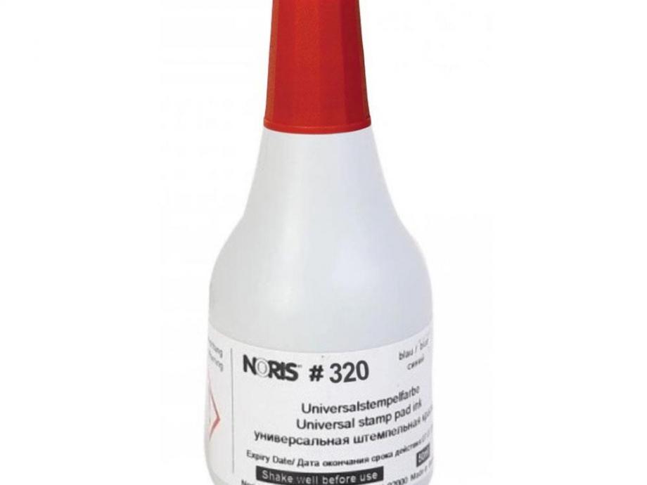 Μελάνι Noris 320 για ύφασμα κόκκινο 50 ml