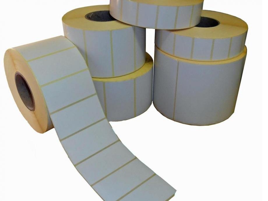 Ετικέτες 58x43 αυτοκόλλητες θερμικές 700/ρολλό ζυγαριάς