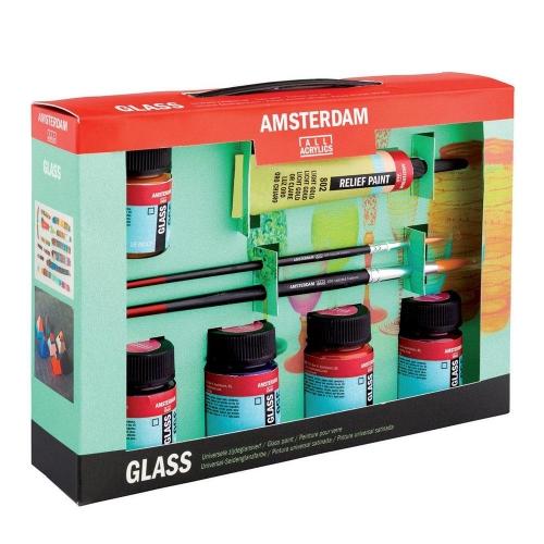 Σετ Amsterdam Glass 6x16ml Talens 54821608