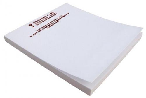 Μπλοκ Α5 λευκό κολλητό 100 φύλλων