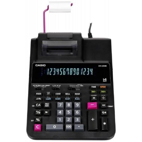 Αριθμομηχανή Casio DR-320 RE χαρτοταινίας