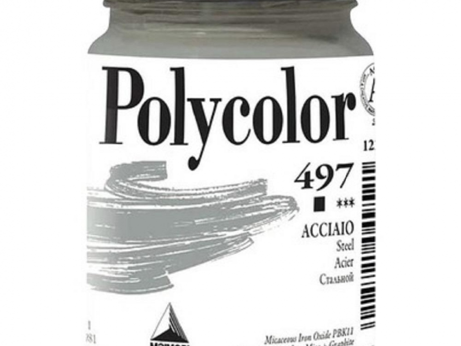Ακρυλικό Maimeri Polycolor 140 ml 497 steel