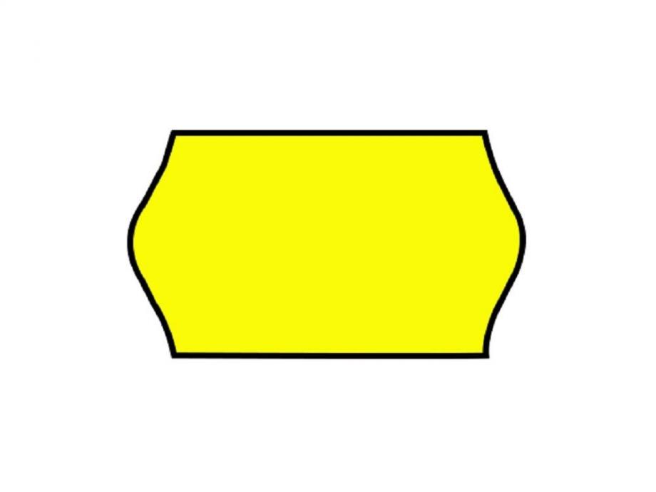 Ετικέτες ετικετογράφου 26x16/1000 φωσφορικό κίτρινο
