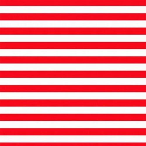 Χαρτόνι ριγέ 50x70 κόκκινο-λευκό
