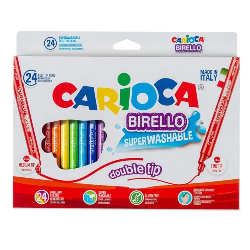 Μαρκαδόροι Carioca birello 24 τεμ. 41521