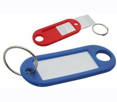 Μπρελόκ κλειδιών απλό με ετικέτα