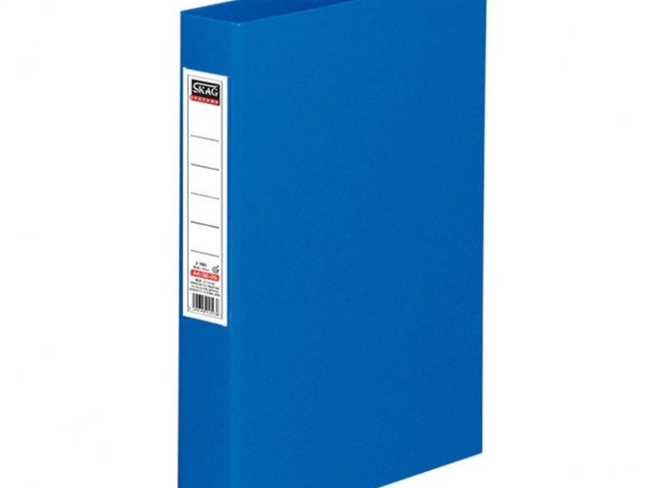 Ντοσιέ Skag ετικέτα 2 κρικ μπλε