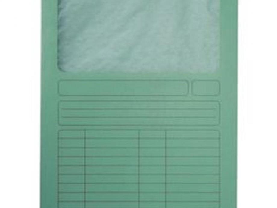 Ντοσιέ με παράθυρο Leitz 3950 πράσινο