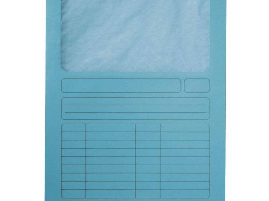 Ντοσιέ με παράθυρο Leitz 3950 μπλε