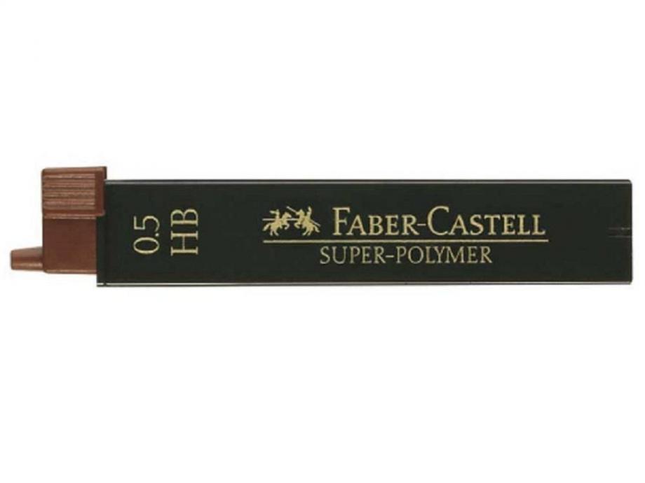 Μύτες 0,5 HΒ Faber 12 τεμ.