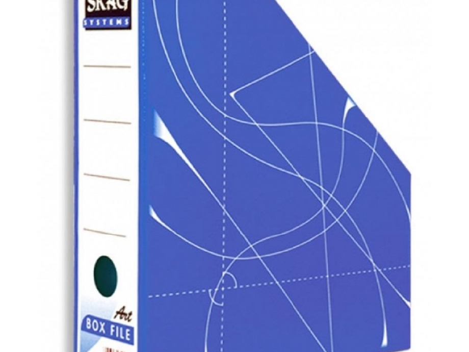 Θήκη περιοδικών Skag μπλε