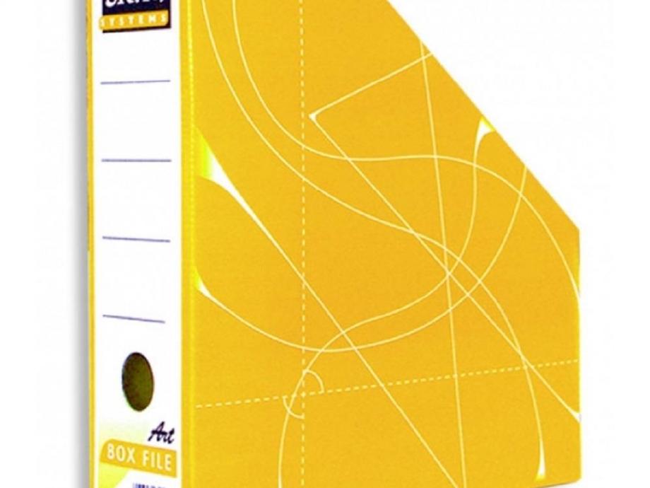 Θήκη περιοδικών Skag κίτρινη