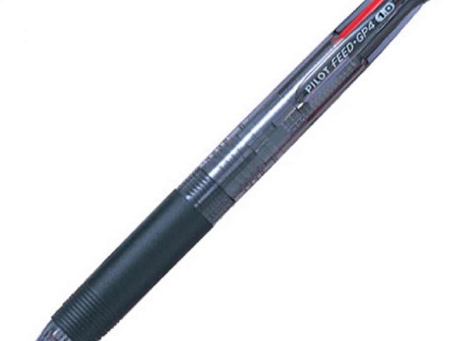 Στυλό Pilot 4 χρώματα feed GP4 μαύρο