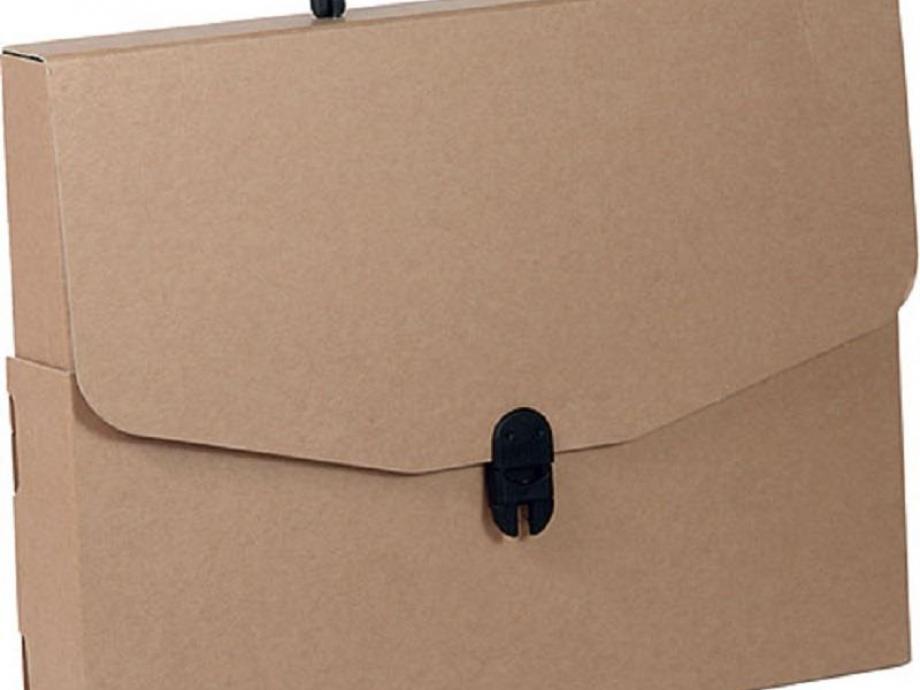 Τσάντα σχεδίου χάρτινη 28x36x4 cm