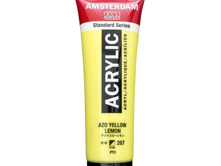 Ακρυλικό Amsterdam 120 ml 267 azo yellow lemon