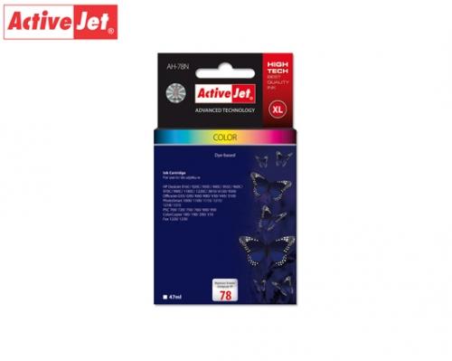 ACTIVE JET INK ΓΙΑ HP #78XL TRICOLOR C6578D ΑΗ-578  45ml (Α)