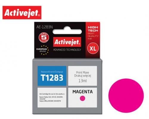 ACTIVE JET INK ΣΥΜΒΑΤΟ ΜΕ EPSON AE-1283N #T1283 MAGENTA 13ml (Ν) #C13T12834011