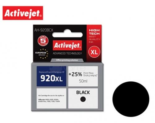 ACTIVE JET INK ΣΥΜΒΑΤΟ ΜΕ HP AH-920BCX #920XL BLACK 50ml (Α) #CD975AE