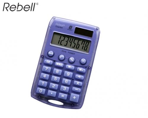 REBELL ΥΠΟΛΟΓΙΣΤΗΣ 8 ΨΗΦΙΩΝ 7x11x1cm STARLET-V ΜΩΒ