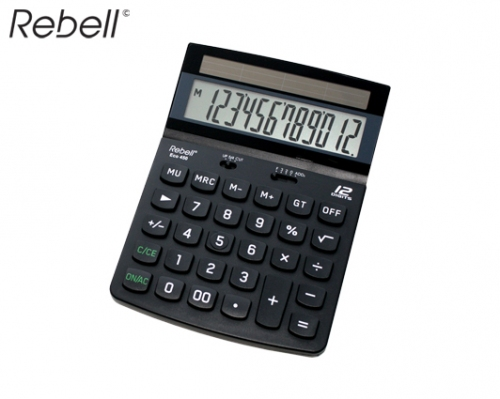 REBELL ΥΠΟΛΟΓΙΣΤΗΣ 12 ΨΗΦΙΩΝ 18x13x3cm