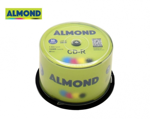 ALMOND CD-R 700MB 52X 50 τεμ. CΑΚΕΒΟΧ